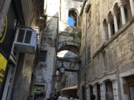 Alte Gasse in Split